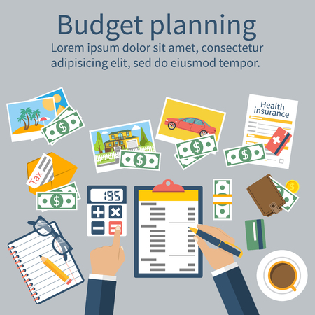 planning: Family budget planning. Financial accounting.