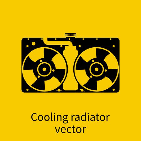 Auto-Kühler-Symbol. Lizenzfrei Nutzbare Vektorgrafiken, Clip Arts ...