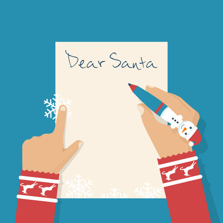 5,445 Letter From Santa Claus Stock Vector Illustration And Royalty ...