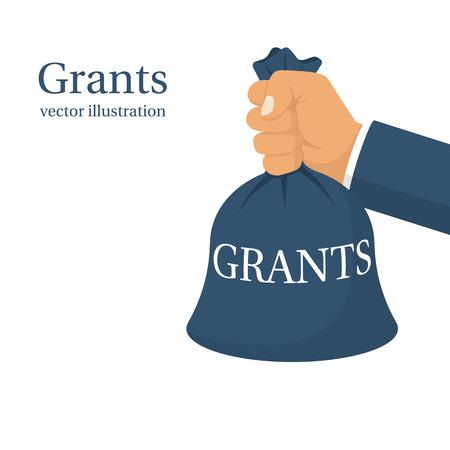 grant: Grant funding, business concept Illustration