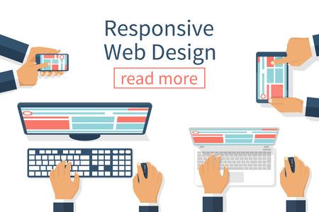 responsive: Responsive Web Design Illustration