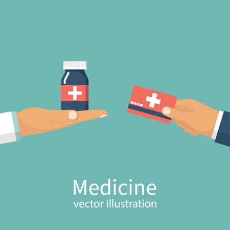Buy medicine. Doctor Stock Photo