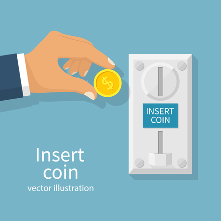 Inserting coin vector