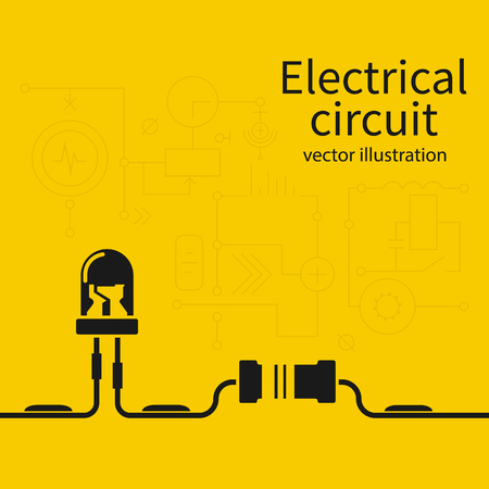 Electrical circuit template.