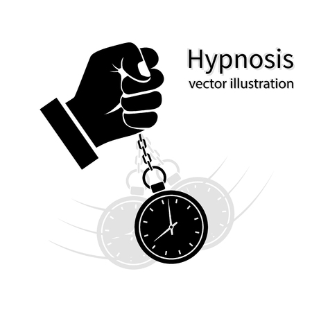 Hypnosis icon black Stock Vector - 77769704