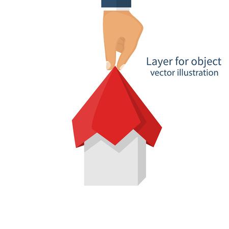 Project presentation concept Illustration