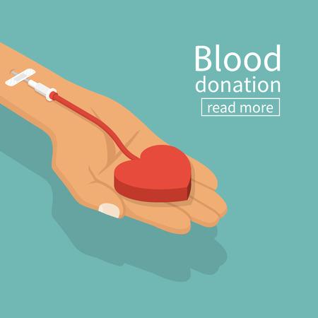 Donazione di sangue CONCEPT Archivio Fotografico - 81645174