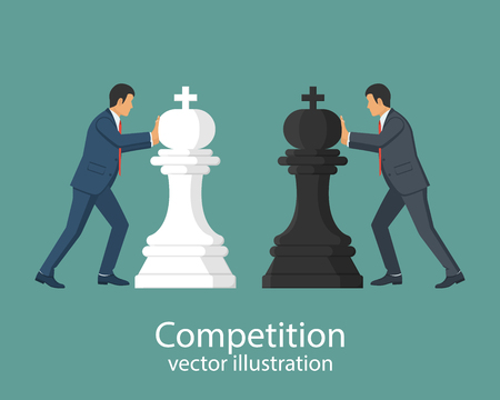 Business competition concept.