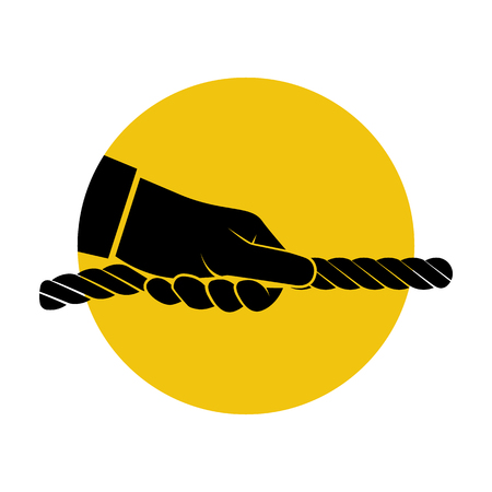 Pull rope icon