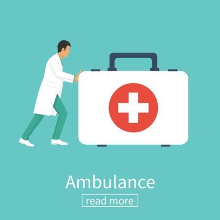 Doctor ambulance