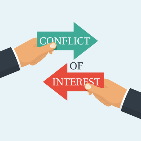 opinion: Conflict of interest vector
