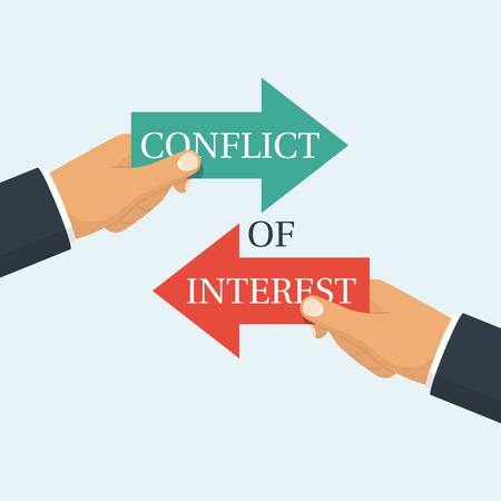Vecteur de conflit d'intérêt