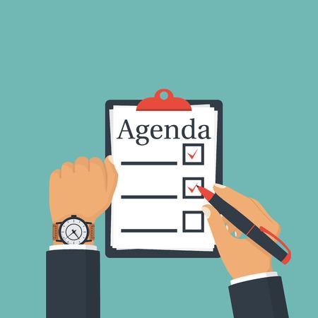 paper note: Agenda list vector