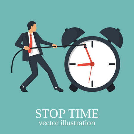 countdown: Stop time concept Illustration