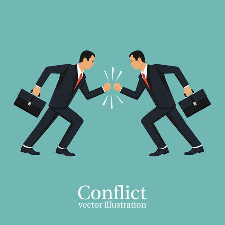 concepto de conflicto de negocios