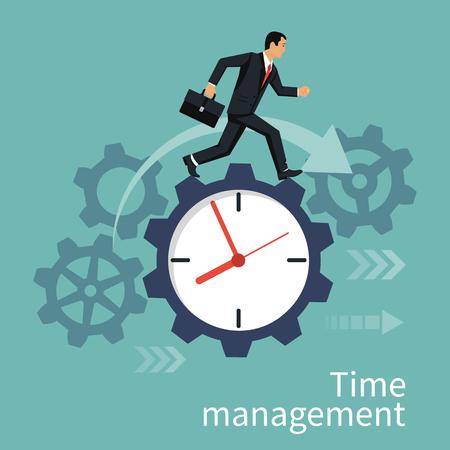job deadline: Time management concept.
