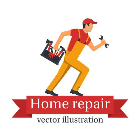 Home repair vector Stock Illustratie