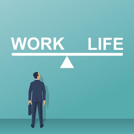 Balance life and work.