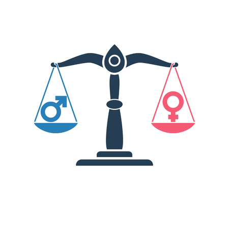 Gender symbols vector