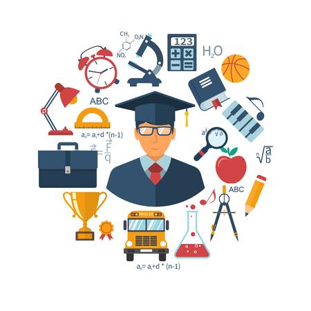 Conceptos de educación y aprendizaje.