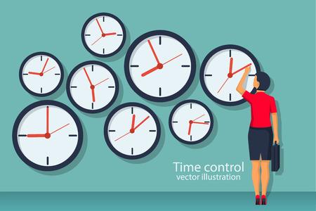 Time control concept.
