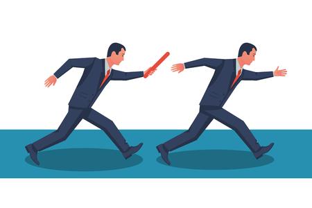 Teamwork-Konzeptvektor Vektorgrafik