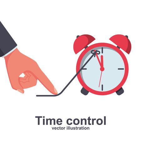 Time control. Deadline concept