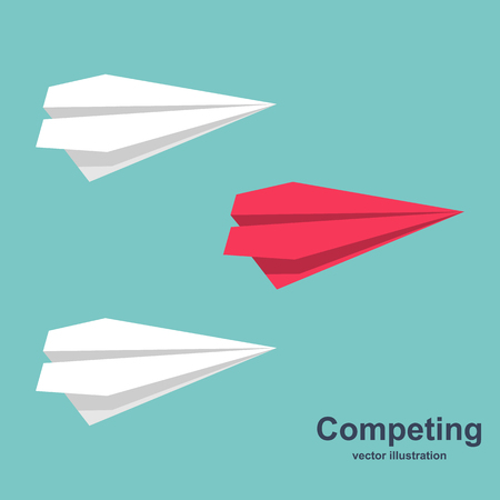 Competing for success vector