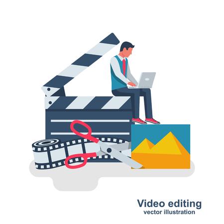 Video editing. Multimedia content