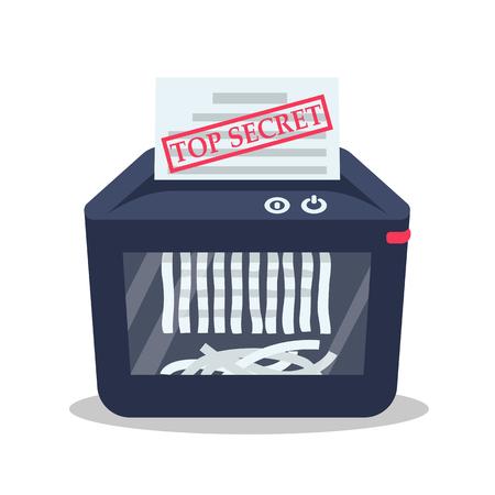 Destruction of secret documents