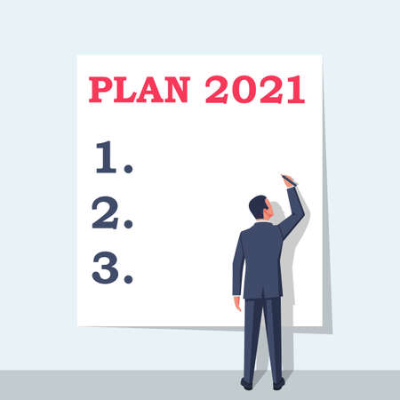 Plan 2021. To do list for next year.