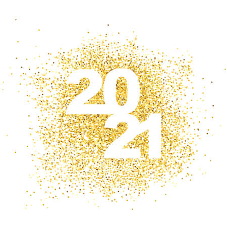 Happy New Year 2021. Gold dust in numbers.
