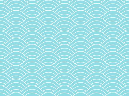 Seamless waves pattern.