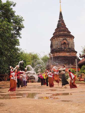 songkran: traditional culture
