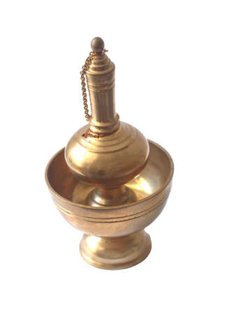 tool for pour ceremonial water in buddhism
