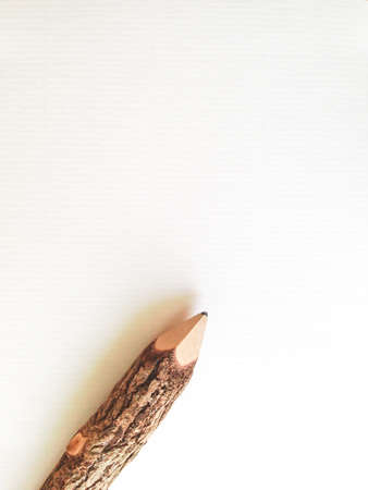 note paper: white note paper with pencil