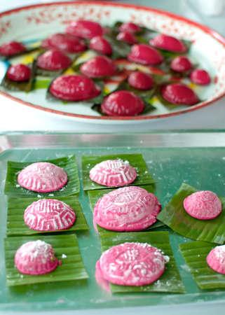 phuket food: red turtle dessert of phuket cuisine