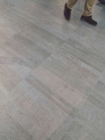 footwork: interior floor tiles  with footwork