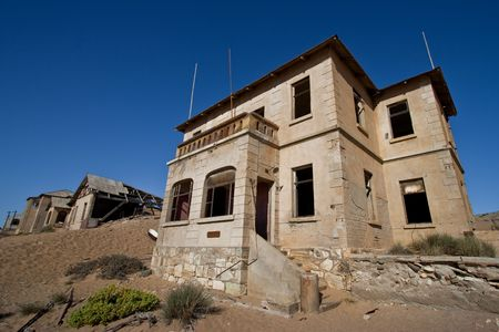 Ghost house, Kolmanskop Stock Photo - 6446145