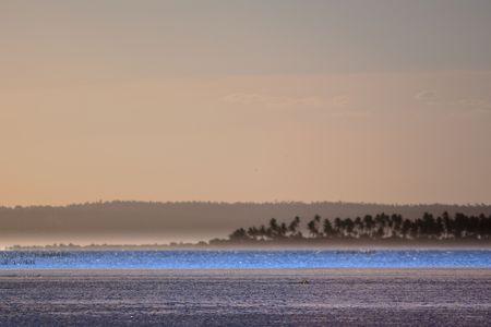 Mozambique: Blue Lagoon, Inhambane, Mozambique Stock Photo