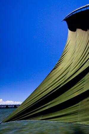 mozambique: Dhow Sail textures, Mozambique