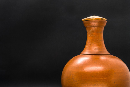 Water clay pot isolated