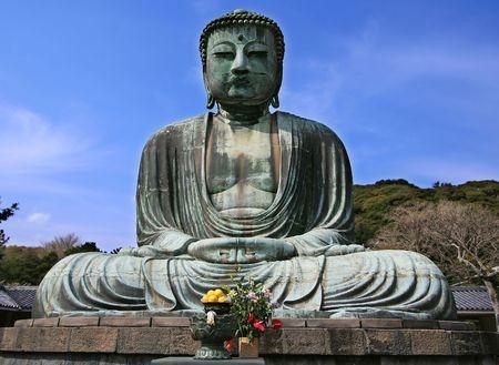 Giant Buddha in Kamakura, Japan photo