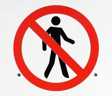 Do not enter sign Stock Photo - 2531296