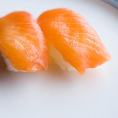 Close up of japanese sushi, shallow dof. photo