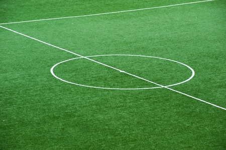 football pitch: Soccer field, center and sideline.