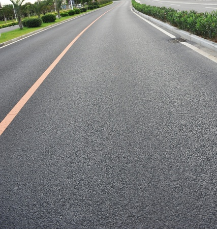 asphalt road in the country. Stock Photo - 13448522
