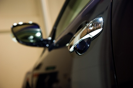 Door car - detail of a luxury car photo