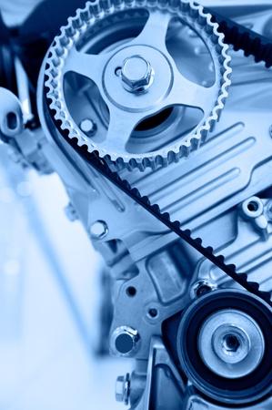 An engine of a modern car. Reklamní fotografie