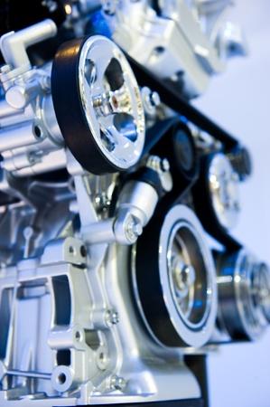 An engine of a modern car. Stock Photo - 13448275
